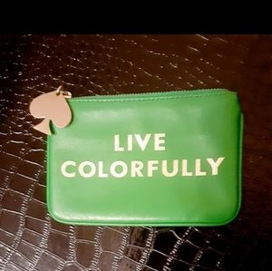 Kate Spade Live Colorfully Coin Purse pouc…